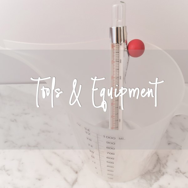Tools & Equipment to DIY your handmade bath & body products